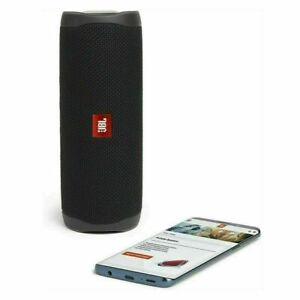 JBL Flip 5 Portable Speaker with Rechargeable Battery Bluetooth Black New Uk