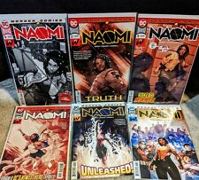 Naomi #1 Complete Set! 2nd and final print DC Comics CW Bendis Campbell