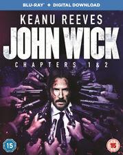 John Wick: Chapters 1 & 2 Blu-Ray (2017) Keanu Reeves, Stahelski (DIR) cert 15