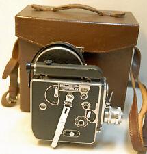 CAMERA PAILLARD BOLEX H 16 Reflex -16 mm -1955 - N°115206 + valisette