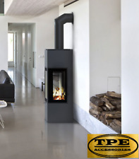 THOR 8 VIEW - Modern Free Standing 3 sided Contemporary Stove Wood Log Burner