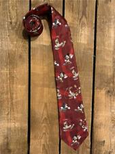 Vintage Disney Mickey Mouse and Goofy Playing Football Necktie Tie
