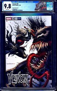 Venom #28 CGC 9.8 TYLER KIRKHAM KNULL VARIANT NM/MT CUSTOM CGC LABEL