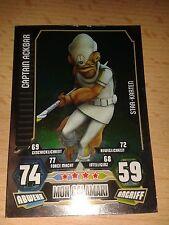 Force Attax Star Wars Serie 3 Star-Karte 200 Captain Ackbar Sammelkarte