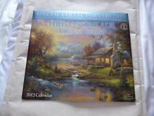Thomas Kinkade (Nature's  Paradise) Official Calendar 2012 collector's edition