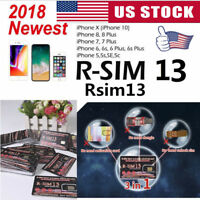 1/5Pcs RSIM 13+ 2018 R-SIM Nano Unlock Card For iPhone X/8/7/6/6s4G iOS 10 11 12