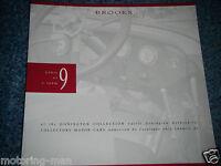 BROOKS AUCTION CATALOGUE 1990 APRIL SALE 3 DONINGTON COLLECTION BMW 328 VIGNALE