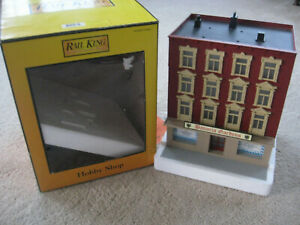 O Scale MTH Rail King #30-90192 Bavarian Garden Works 4 Story Building