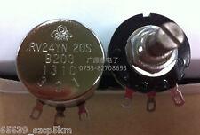 COSMOS/TOCOS RV24YN 20S B203 Potentiometer, 20K OHM Long Life Panel Pot