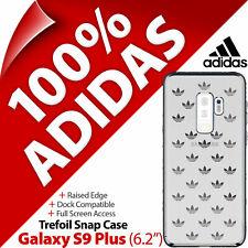 """Adidas Originals Trébol Broche De Presión Funda para Samsung Galaxy S9+/S9 (6.2"""") PLUS"""