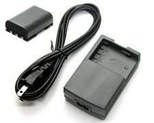 Battery Pack + Charger for Canon LEGRIA HF R10 HF R16 HF R17 HF R18 HF R106 HV40