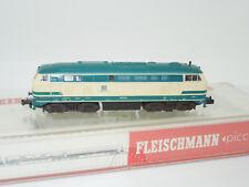 Fleischmann pista n 7233 diesellok br 218 de la DB azul/beige