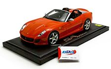 1:18 BBR Ferrari 599 Super America SA Aperta 2010 Red Rosso Dino UNIQUE ON EBAY