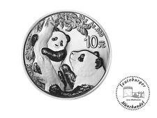 10 Yuan China Panda 2021 30 Gramm 999 AG / Silber * St *