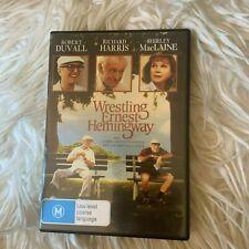 WRESTLING ERNEST HEMINGWAY DVD