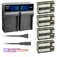 Kastar Battery LCD Rapid Charger for Canon BP-511A Canon Optura 10 Optura 20
