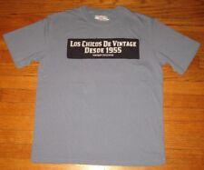 VINTAGE 55 Designer T-Shirt, Men's LARGE, AUTHENTIC Los Chicos, 1955 NEW ($95)