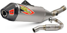 New Pro Circuit Ti-6 PRO Exhaust System Header Silencer Carbon KXF 450 16 17 18