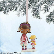 Disney Store Doc McStuffins and Lambie Sketchbook Ornament Holiday NWT NIB