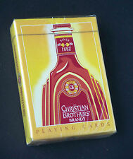 SEALED N.O.S. ~ Christian Bros. Brandy Playing Cards