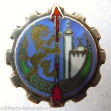 insigne boutonnière 263° CCR  Algérie TRAIN émail miniature ORIGINAL