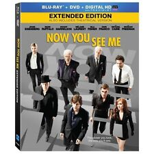 Now You See Me (Blu-ray/DVD, 2013, 2-Disc Set New, Free shipping