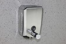 Stainless Steel Wall Shampoo Soap Dispenser Bathroom Shower Gel Body Lotion Box