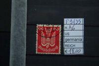 FRANCOBOLLI GERMANIA REICH USATI N°A6 (F9135)