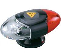 Topeak Headlux Helmet Mounted Mount MTB Bicycle Bike Cycle LED Light Front Rear