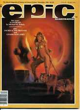 EPIC N°   21. 1983.   MARVEL MAGAZINE OF FANTASY & SCIENCE-FICTION