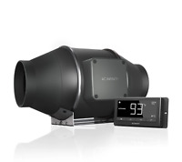 AC Infinity Cloudline T4, T6 or T8 In line Quiet Fan with Controller - UK seller