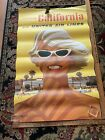 Original United Airlines Travel Poster Southern California, Los Angeles, Galli
