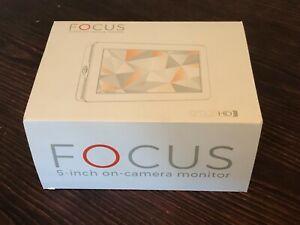SmallHD Focus 5 inch external monitor (faulty)  & Canon adapter kit & sunshade