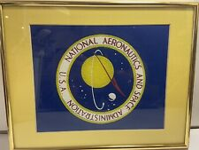 Vintage Nasa 1960 Official Seal from Kennedy Space Center Holy Grail of Patches