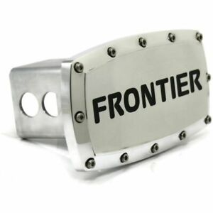 """Nissan Frontier 2"""" Tow Hitch Cover Plug Engraved Billet Aluminum"""