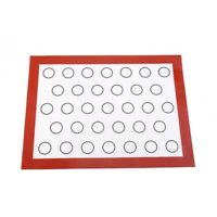 Feuille de tapis de cuisson antiadhesif en silicone pour Macaron Ustensiles A9X9