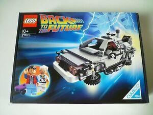 LEGO Lego Cuusoo #004 21103 DeLorean Machine Back to the future [ Neuf ]