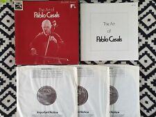 HMV Treasury RLS 723 ED1 - The Art Of Pablo Casals '76 NM 3LP BOX