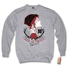 Pullover - TATTOO GIRL - Oldschool Vintage Sweater Sweatshirt S M L XL XXL
