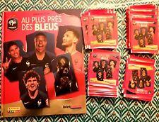 NEUFS Album ou 72 paquets images Panini Au plus près des bleus Intermarché