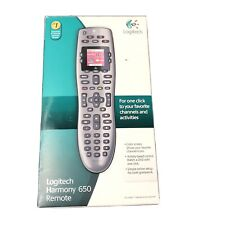 Logitech Harmony 650 Infrared All-in-One Remote Control Universal Programmable