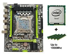 LGA 2011 M-ATX x79 Intel Motherboard + 16GB DDR3 RAM For Xeon 26xx 46xx V1/V2