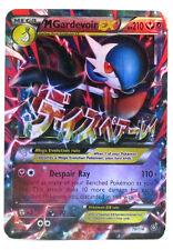 Pokémon Individual Card Mega EX Gardevoir 79/114 with Card Sleeve and Box Case