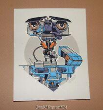 Tyler Stout Johnny 5 Short Circuit Poster Print Handbill Stickers Art Pros Cons