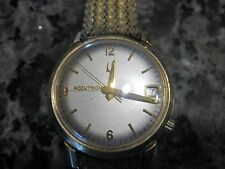Used Accutron Gold filled mans, running but does not keep time,1972, for repair