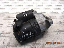 Nissan Note 1.5 DCi Engine Starter Motor 8200463004 used 2012