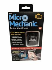 NEW Micro Mechanic Portable Check Engine Car Code Reader Diagnostic Tool Scan