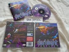 Darklight Conflict PS1 (COMPLETE) Sony PlayStation black label rare