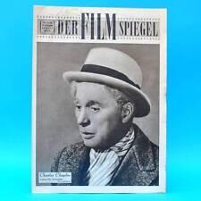 DDR Filmspiegel 25/1956 Charles Chaplin Wolf Kaiser Yul Brynner Bamsdorf