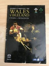 Wales v Ireland-12th March 2011-RBS 6 Nations